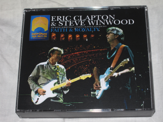 ERIC CLAPTON & STEVE WINWOOD / ROYAL FAITH NIGHTS_b0042308_1122472.jpg