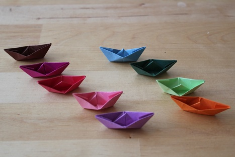 クリスマス 折り紙 折り紙 船 : weisserose.exblog.jp