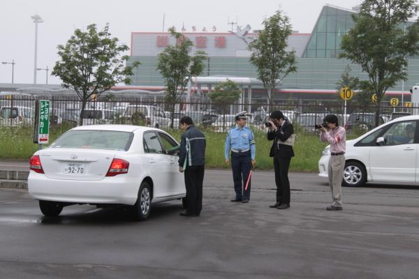 旅行中の安全運転のお願いをしました。 7月16日_f0113639_18434579.jpg