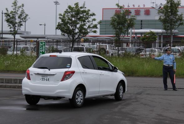 旅行中の安全運転のお願いをしました。 7月16日_f0113639_1844019.jpg