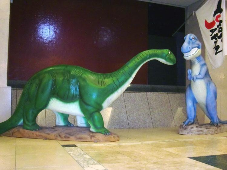 レトロ恐竜4人組、3年ぶりにお出かけしました。_a0077842_15171148.jpg
