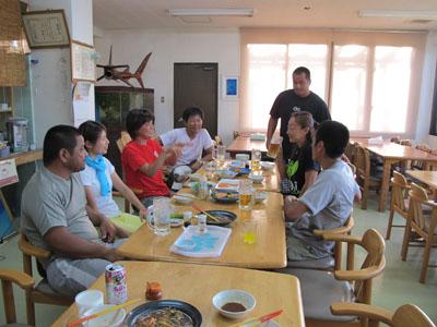 7月 16日 おいしい夕食をいただきました。_b0158746_1794764.jpg