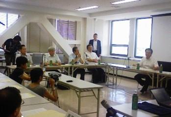愛知県の「長良川河口堰検証」 7月14日_f0197754_12291036.jpg