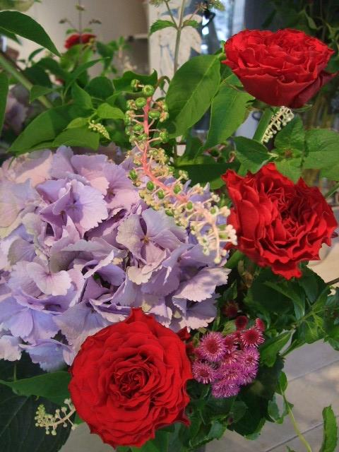オークリーフ花の教室(島崎さんの作品)_f0049672_1615769.jpg