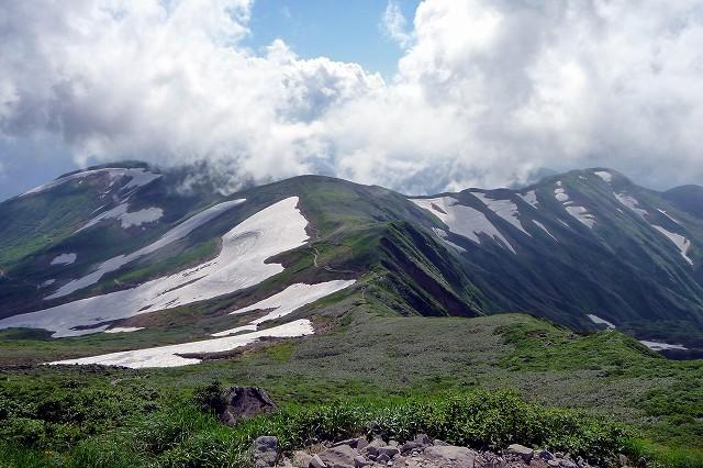 月山は花と人との出会いの山_e0137200_20455131.jpg
