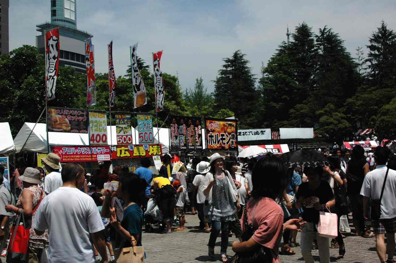 東北六魂祭が開催_a0148206_17542599.jpg