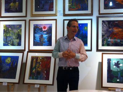 ハリー・ポッター日本語版の画家、ダン・シュレシンジャーさんの東日本大震災復興チャリティーイベント_c0089310_2357565.jpg