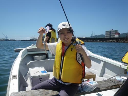 釣女2 真夏のキス釣り苦戦_f0175450_207599.jpg