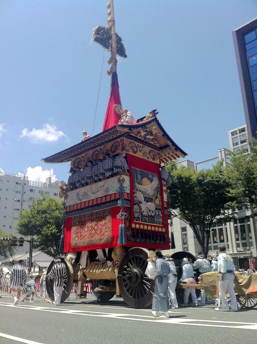 祇園祭 巡行 2011。_e0170538_0103458.jpg