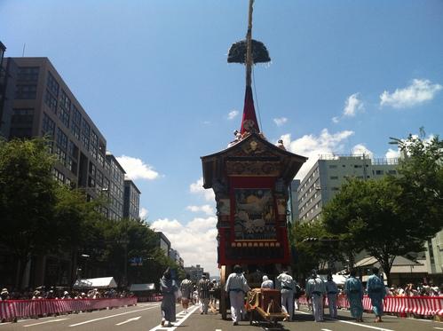 祇園祭 巡行 2011。_e0170538_0104341.jpg