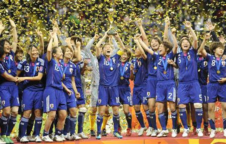 なでしこジャパン!!女子ワールドカップ 2011優勝おめでとう! : 大 ...