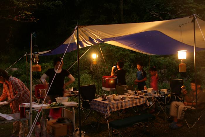我が家のキャンプ日記2011年7月(1日目)_c0120834_15371738.jpg