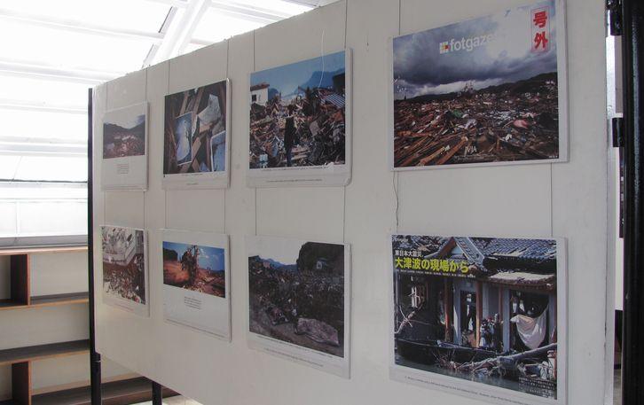七夕会場に 日本映画祭と写真展が・・ バギオ博物館_a0109542_19482634.jpg
