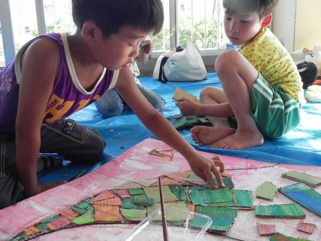セルシーのキッズクラフト展/Kidscraft Exhibition at Selcy _d0076558_15442093.jpg