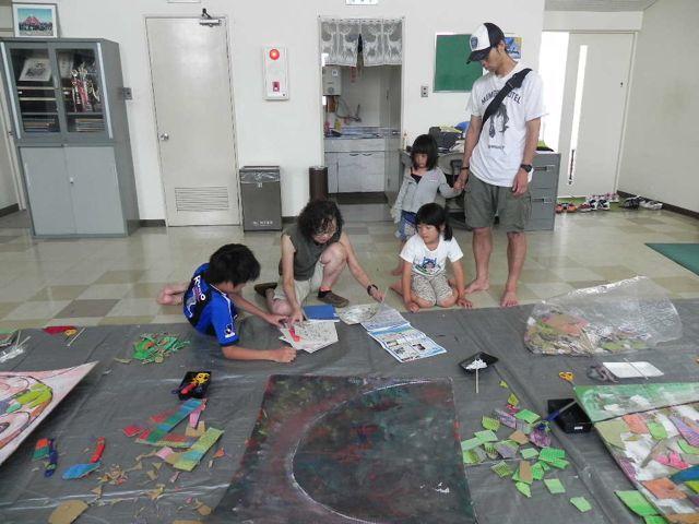 セルシーのキッズクラフト展/Kidscraft Exhibition at Selcy _d0076558_1554172.jpg