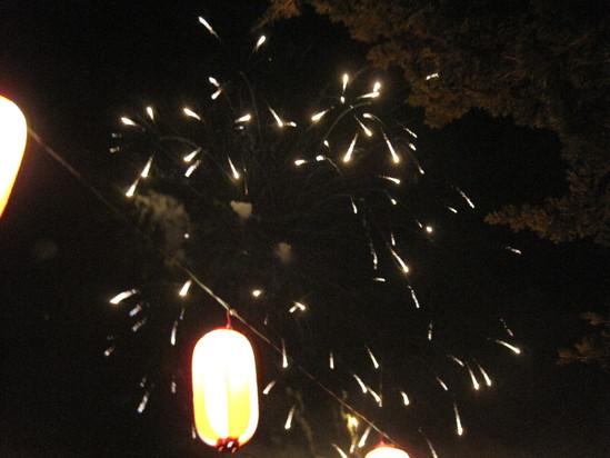 長倉神社の花火&アウトレットの花火_f0236260_1504924.jpg