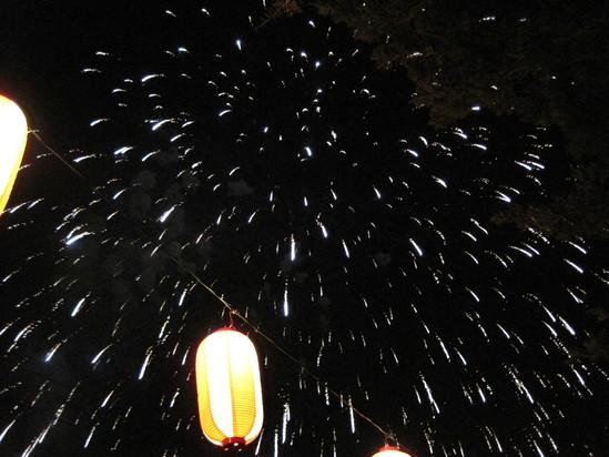 長倉神社の花火&アウトレットの花火_f0236260_1551923.jpg