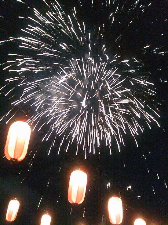 長倉神社の花火&アウトレットの花火_f0236260_1574677.jpg