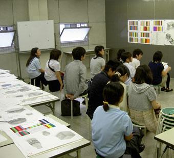 前期授業最終日_a0103574_16484273.jpg