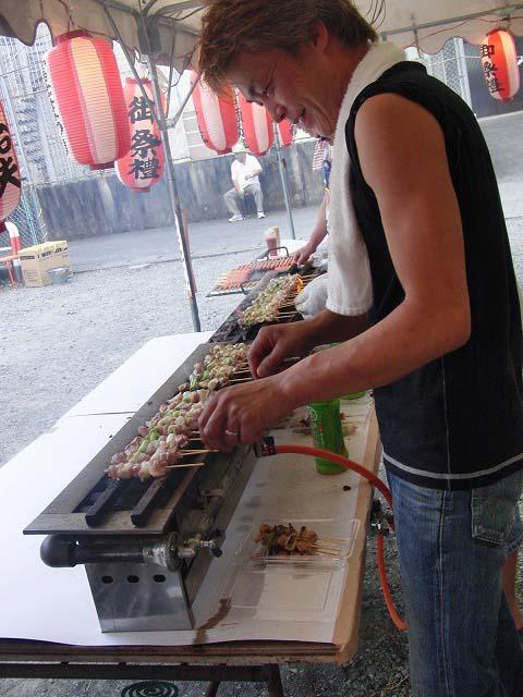 暑い熱い一日 駿河台三丁目のてんのさん_f0141310_6272742.jpg