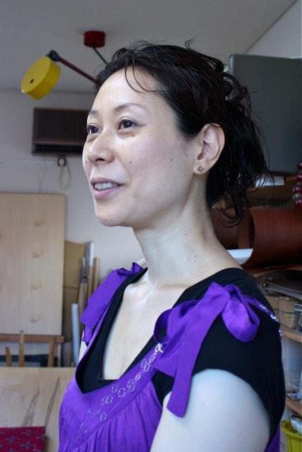 「 Atelier Couleur染色デザイン工房」に初訪問〜♬_f0170519_13511341.jpg