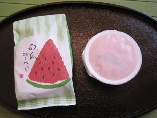 夏の水菓子_f0236260_1711232.jpg