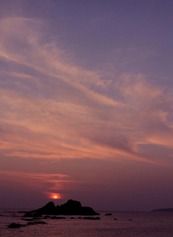 壁島の夕陽_d0074828_21413335.jpg