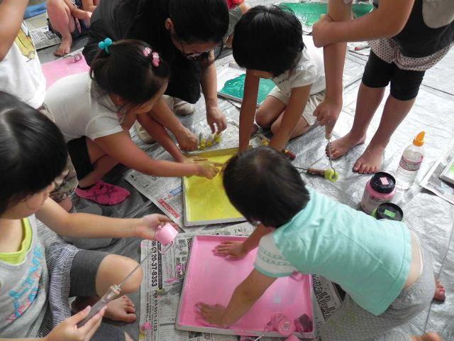 セルシーのキッズクラフト展/Kidscraft Exhibition at Selcy _d0076558_1220449.jpg
