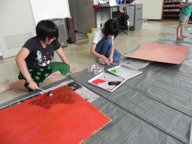 セルシーのキッズクラフト展/Kidscraft Exhibition at Selcy _d0076558_122147.jpg
