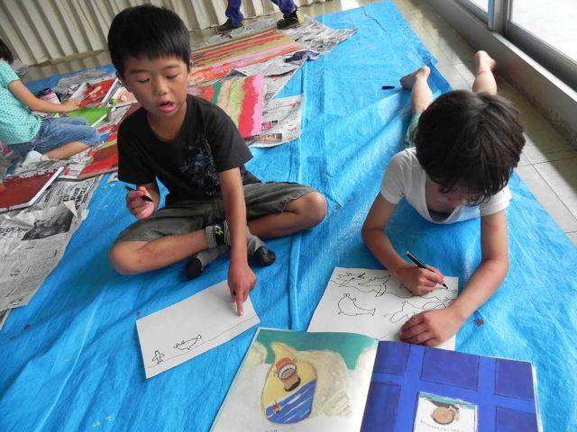 セルシーのキッズクラフト展/Kidscraft Exhibition at Selcy _d0076558_12293628.jpg