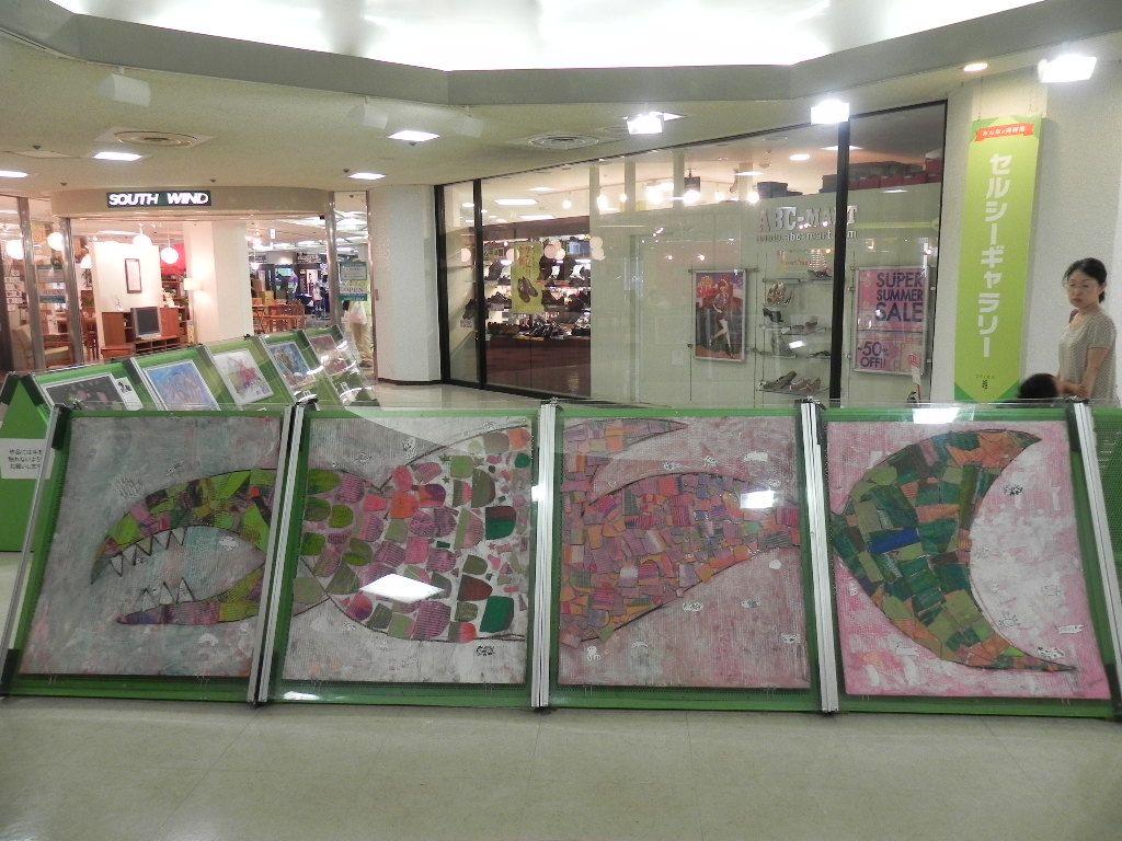 セルシーのキッズクラフト展/Kidscraft Exhibition at Selcy _d0076558_1251273.jpg