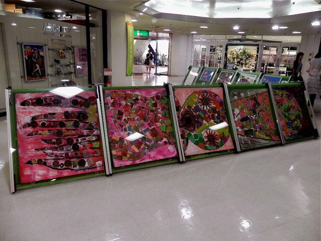 セルシーのキッズクラフト展/Kidscraft Exhibition at Selcy _d0076558_1292724.jpg