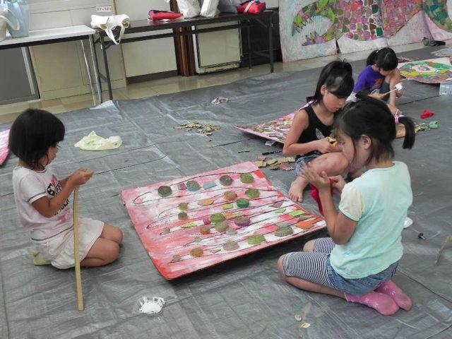 セルシーのキッズクラフト展/Kidscraft Exhibition at Selcy _d0076558_1338480.jpg