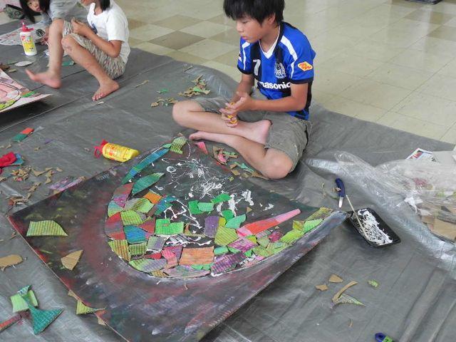 セルシーのキッズクラフト展/Kidscraft Exhibition at Selcy _d0076558_13385338.jpg