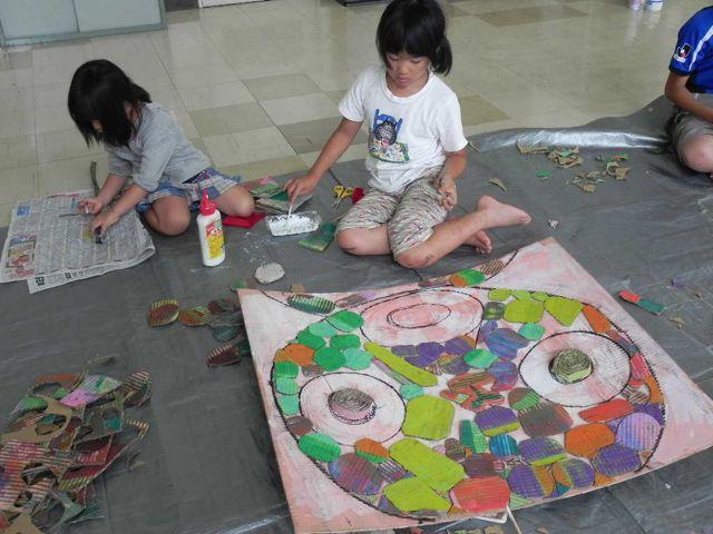 セルシーのキッズクラフト展/Kidscraft Exhibition at Selcy _d0076558_13392344.jpg