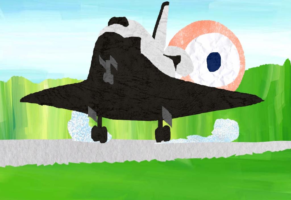 本日スペースシャトル最後の着陸!_c0166765_14533866.jpg