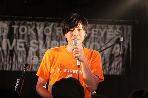 """【ライヴレポート】J-WAVE TOKYO REAL-EYES """"LIVE SUPERNOVA Vol.62""""_e0197970_1332468.jpg"""