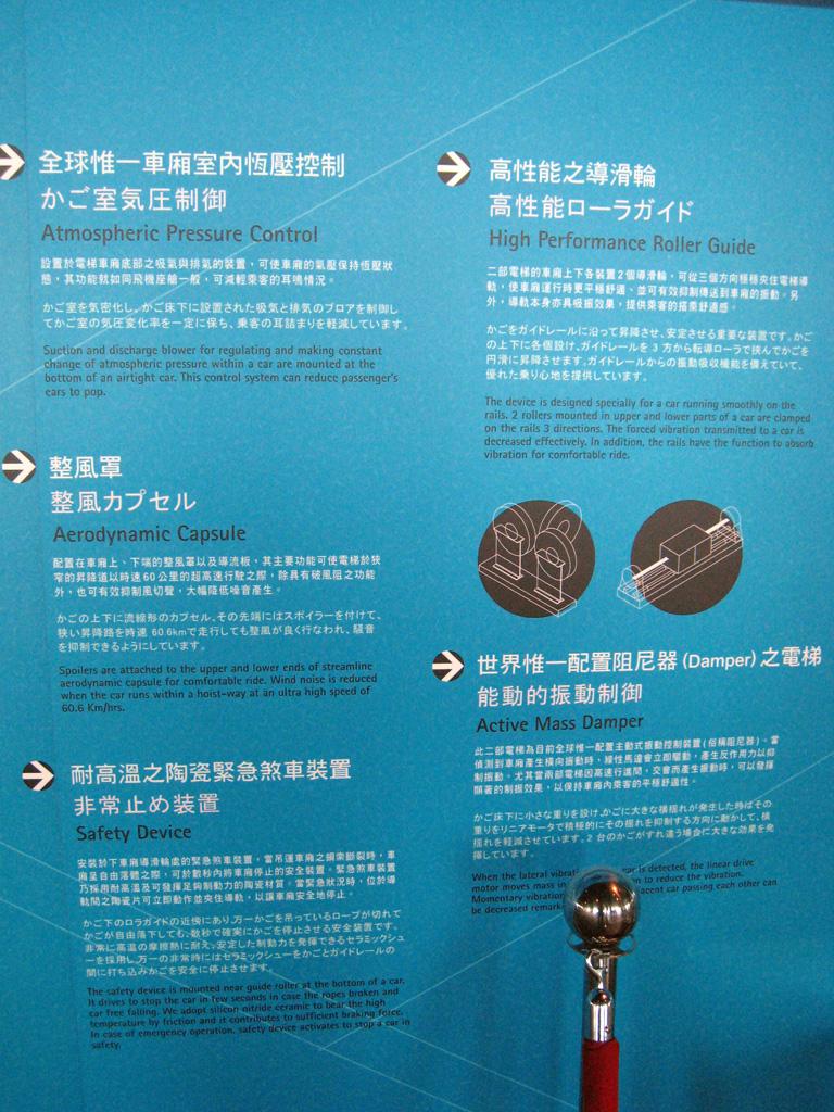 麗しの島 台湾旅行記 167 台北101その2_e0021092_12235844.jpg