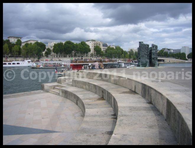 【街角の公園】Jardin Tino Rossi(Quai Saint-Bernard)Paris_a0008105_19344025.jpg