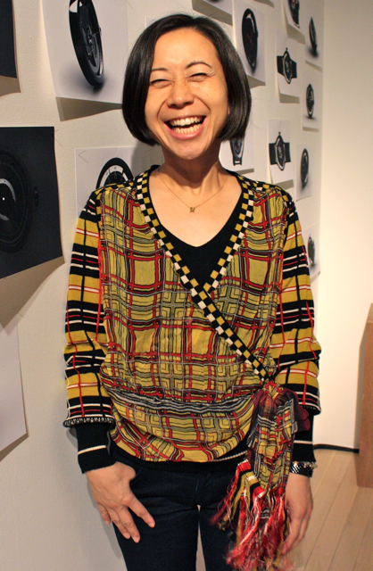 NS_CONCEPT 坂井直樹 展で仁美、スマイル炸裂〜♡_f0170519_8481791.jpg