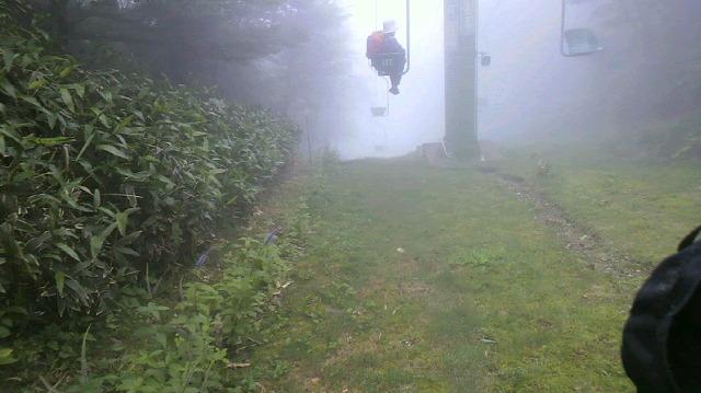 神山からのルートは午後から正式に通れるようです。_c0089831_0174788.jpg
