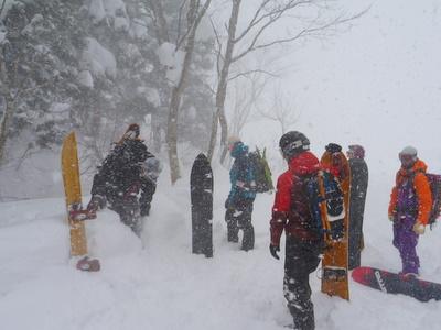 【滑走レポ18 2011.1.25】 フリーライディングセッション with RIDE TEAM@かぐら_e0037849_7524746.jpg