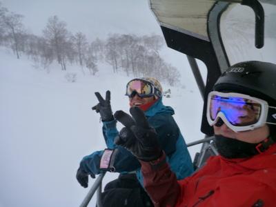 【滑走レポ18 2011.1.25】 フリーライディングセッション with RIDE TEAM@かぐら_e0037849_7544178.jpg