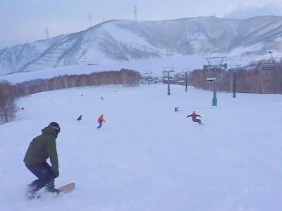 【滑走レポ18 2011.1.25】 フリーライディングセッション with RIDE TEAM@かぐら_e0037849_7575193.jpg