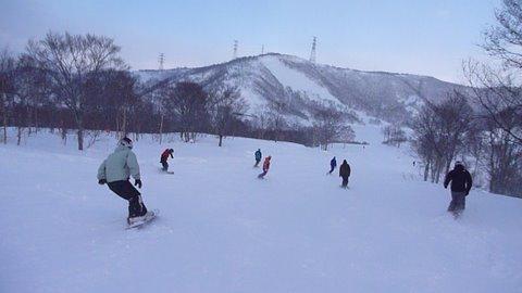 【滑走レポ18 2011.1.25】 フリーライディングセッション with RIDE TEAM@かぐら_e0037849_7585660.jpg
