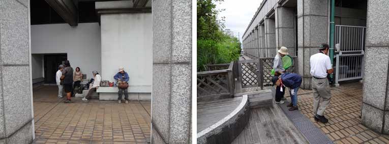 パートナーシップクラブ 大阪市庁舎屋上調査_e0090670_0165317.jpg