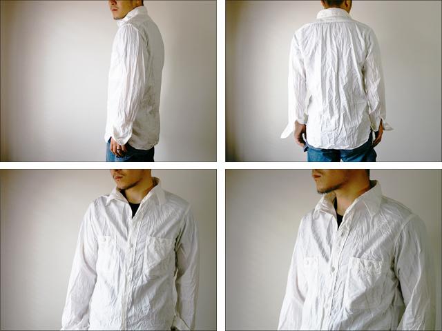 orslow [オアスロウ] chambray shirts [シャンブレーシャツ] WHITE_f0051306_17284332.jpg