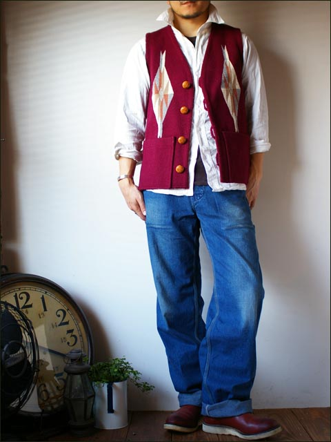 orslow [オアスロウ] chambray shirts [シャンブレーシャツ] WHITE_f0051306_17284559.jpg