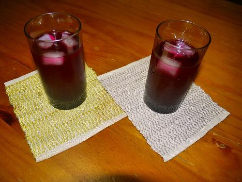 紫蘇ジュースと・・・_e0221708_22405841.jpg