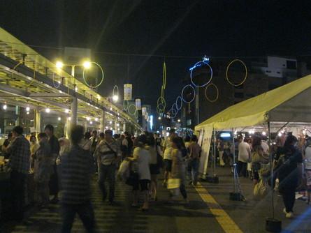 「紫川夜市」(1日目)_a0125419_7443185.jpg